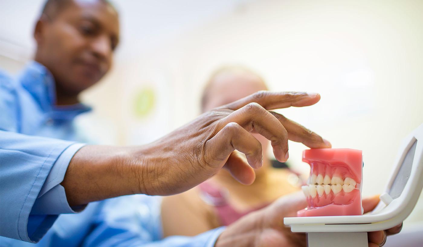 broken dentures